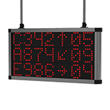 Dot-matrix central LED displays