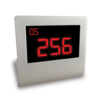 LCD counter display